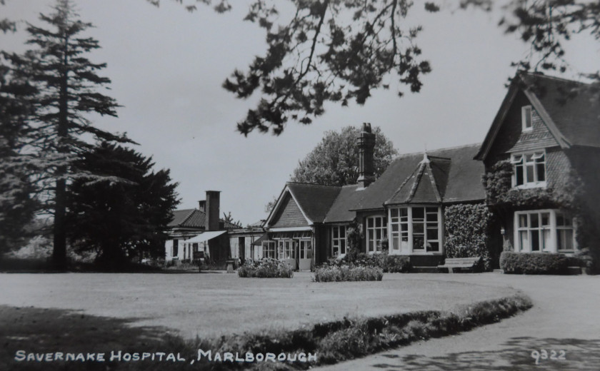 Savernake Hospital Marlborough 1950s